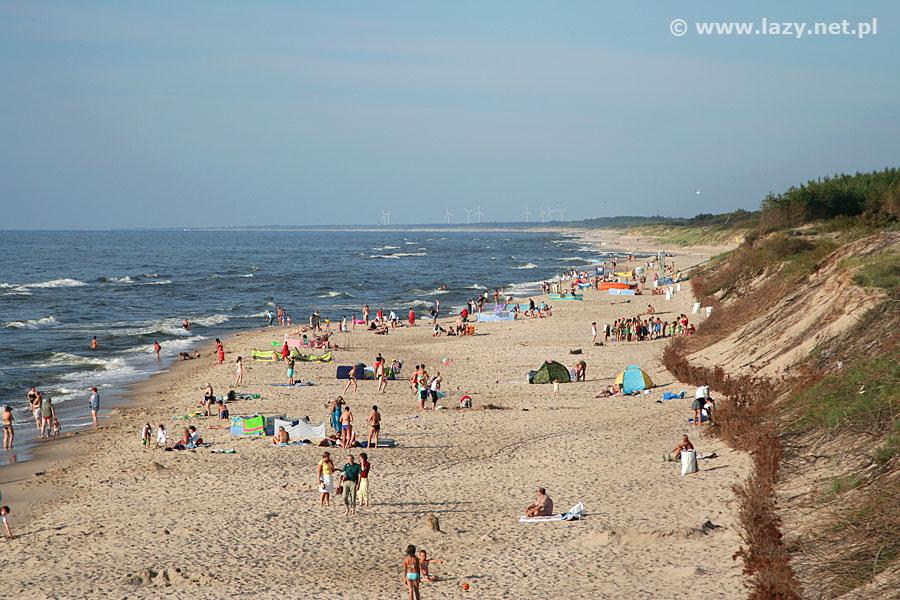 Łazy nad morzem - plaża