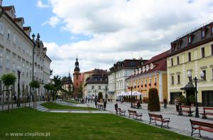 Cieplice Plac Piastowski